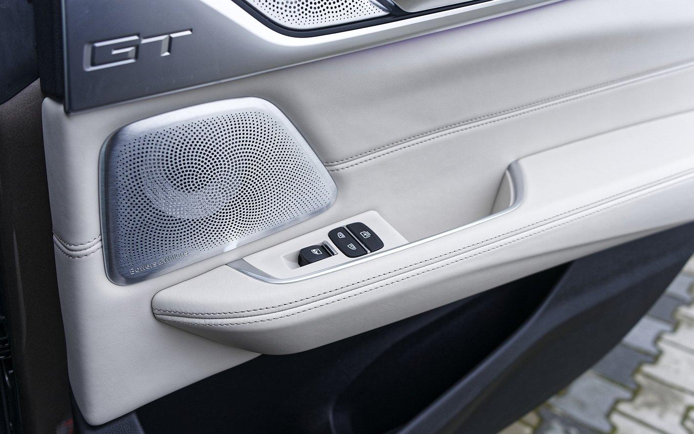 BMW Serii 6 Gran Turismo - nagłośnienie Bowers & Wilkins