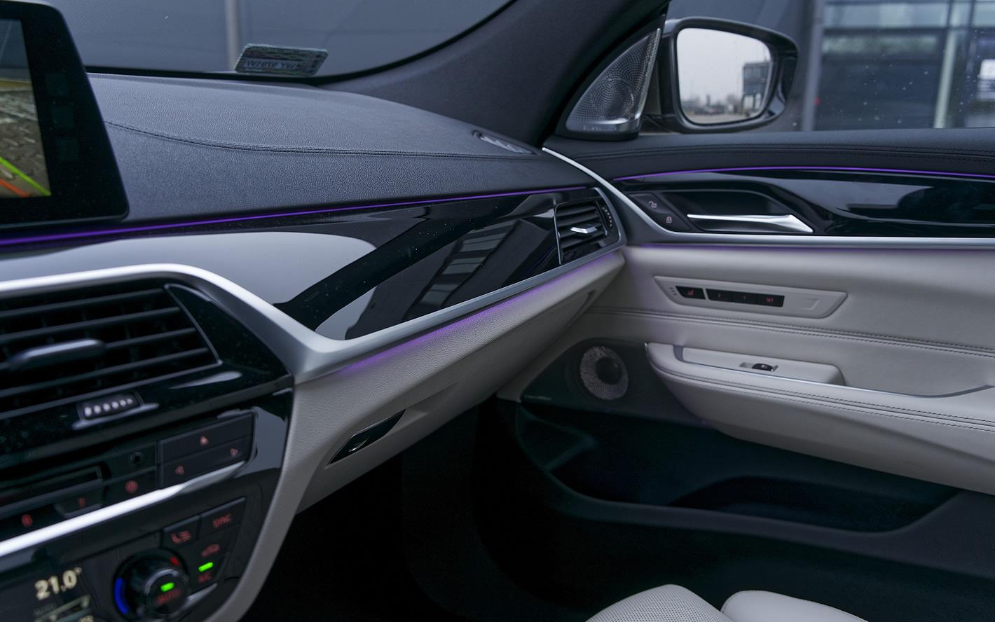 BMW Serii 6 Gran Turismo - elementy wykończenia