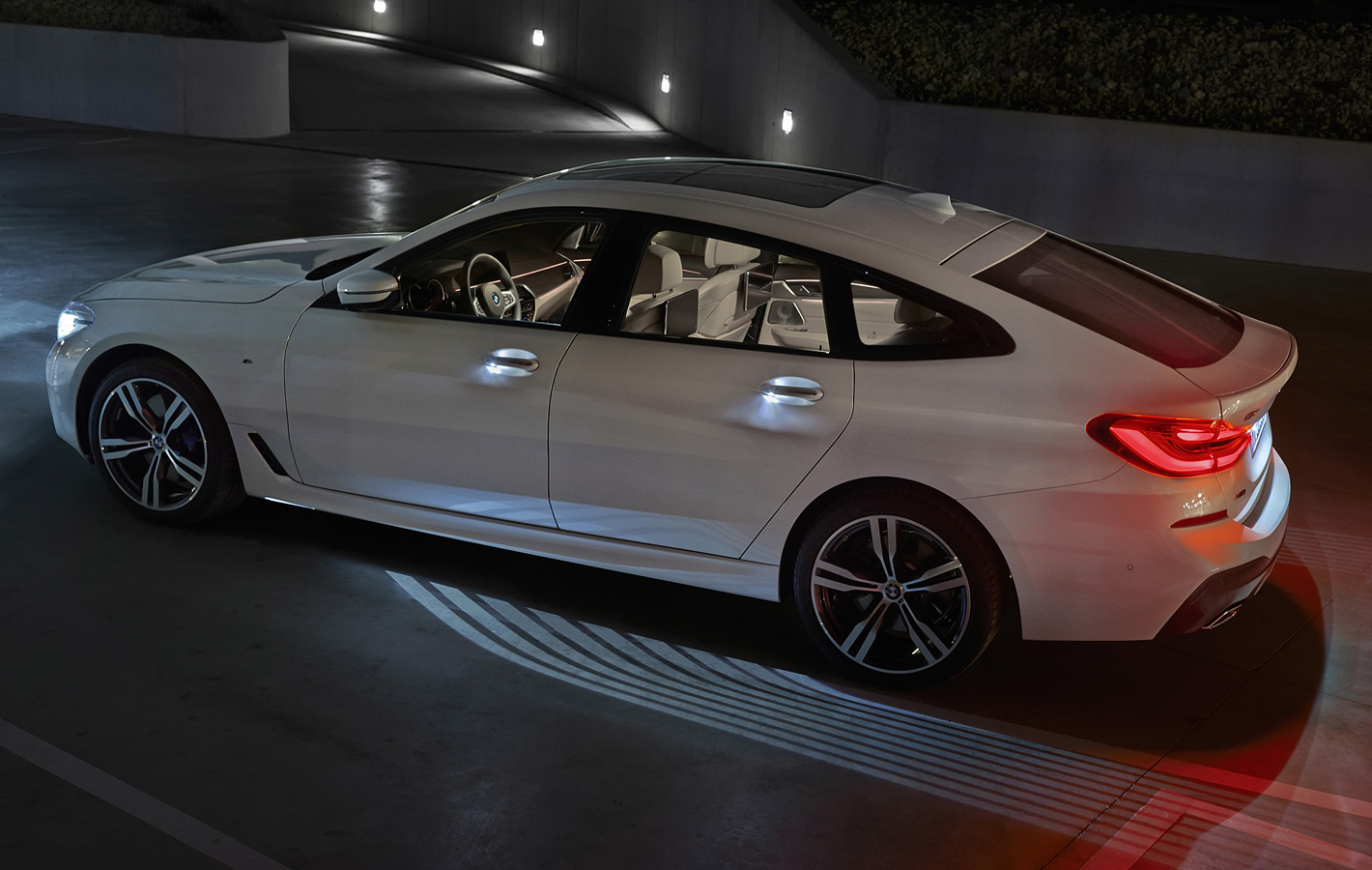 BMW Serii 6 Gran Turismo - podświetlenie powitalne