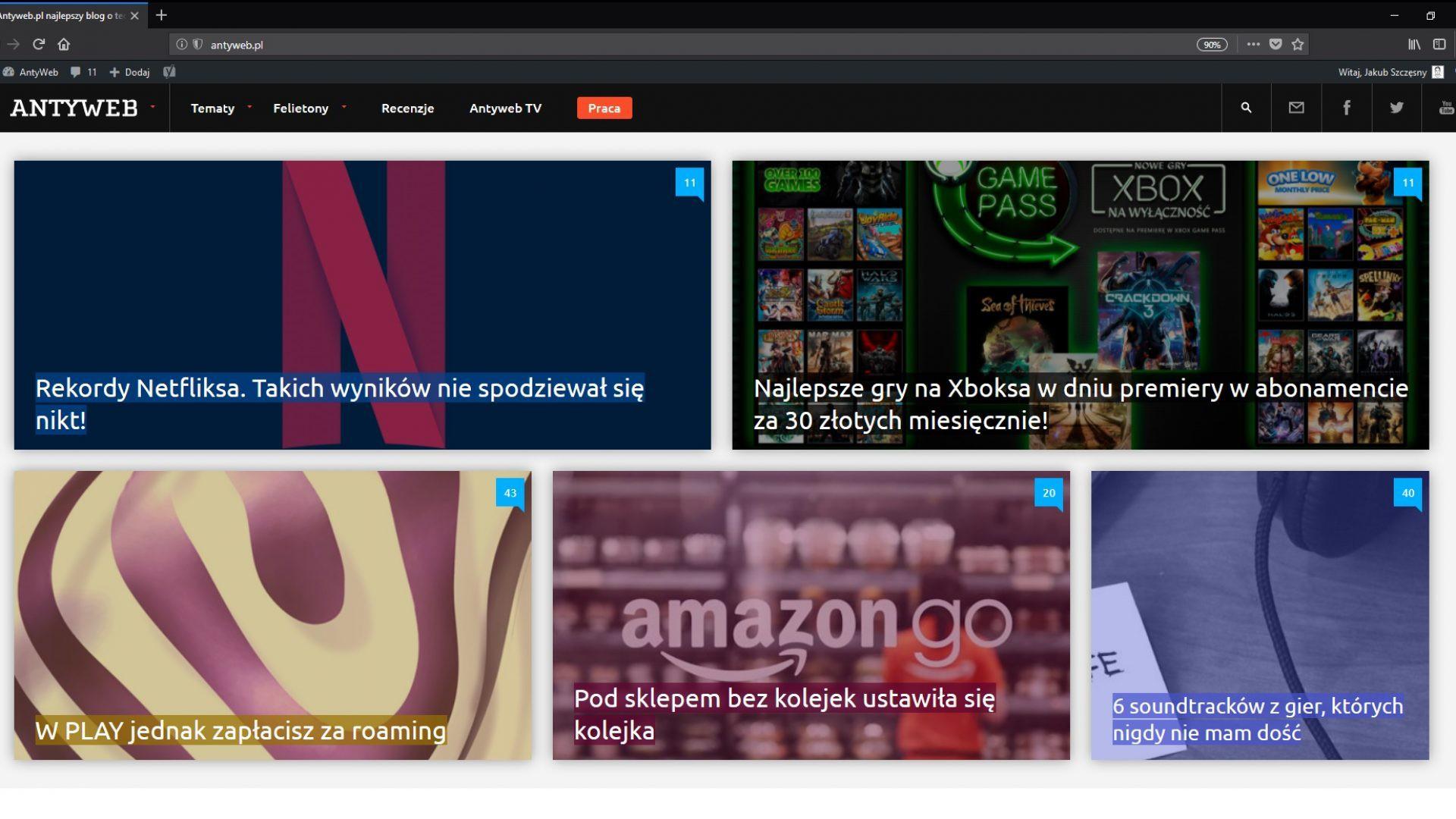 Firefox Quantum Screenshot Antyweb