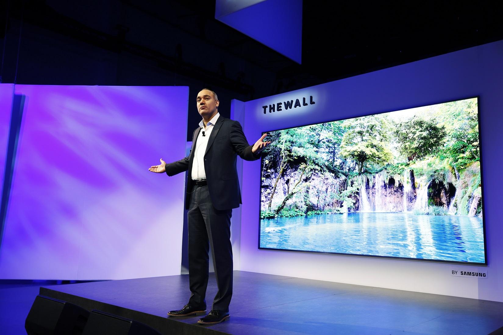 modularny telewizor Samsung The Wall