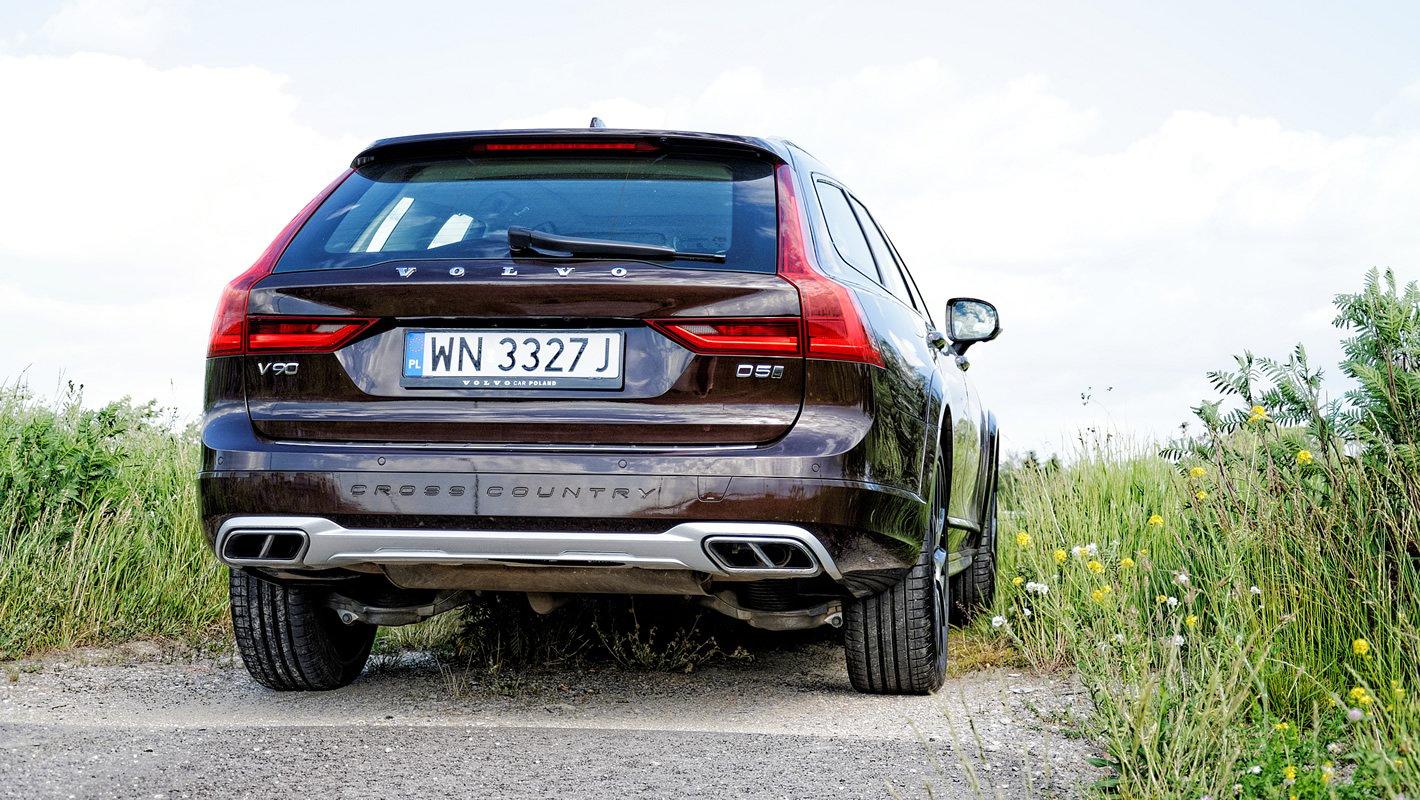 Volvo V90 Cross Country AWD z silnikiem D5