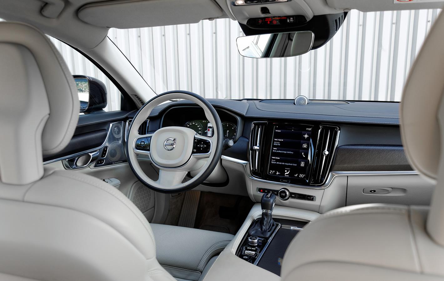 Volvo V90 Cross Country AWD - wnętrze