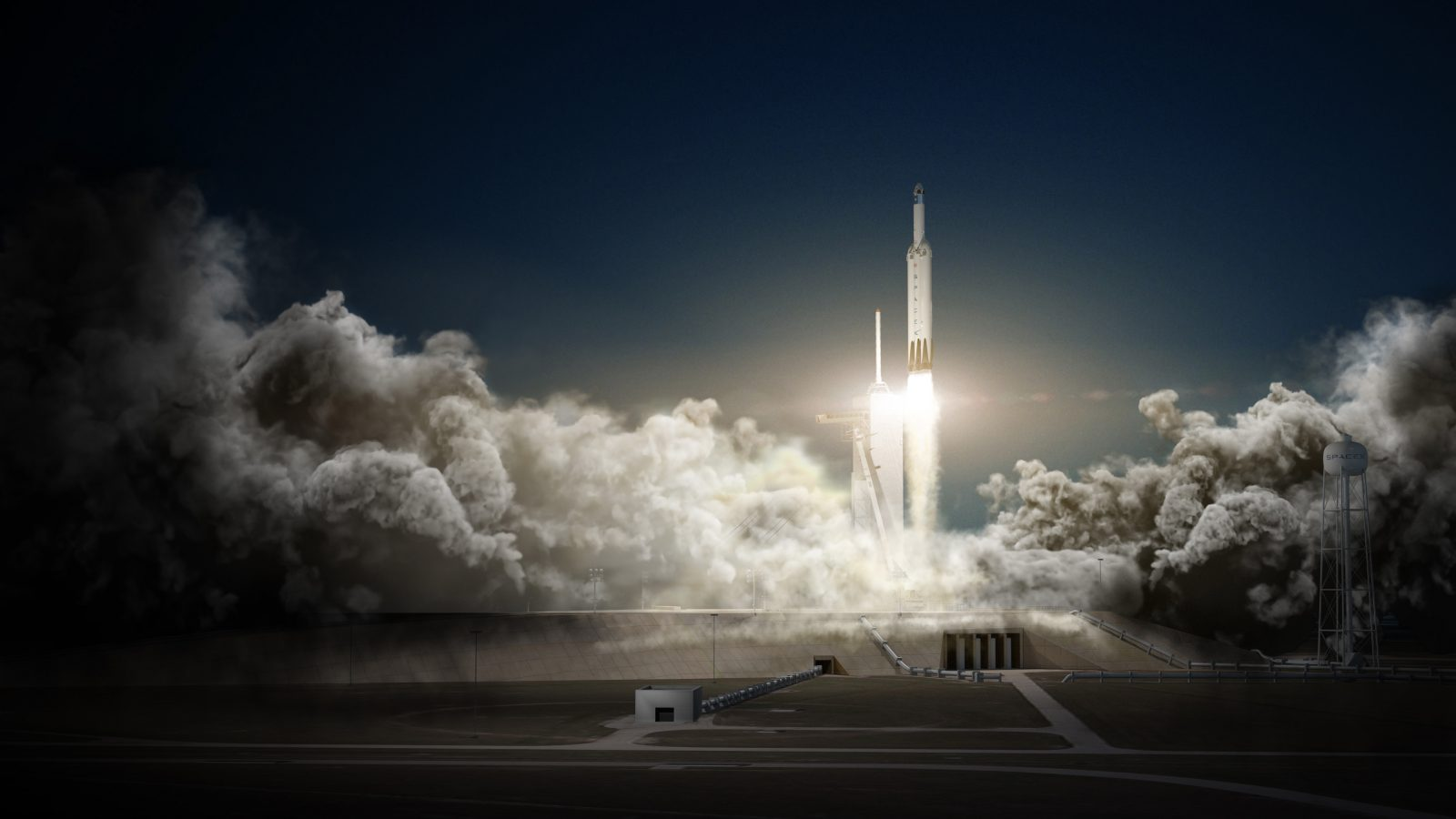Elon Musk, SpaceX, Falcon Heavy, Dragon