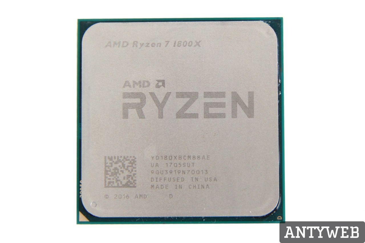 AMD Ryzen 7 1800X recenzja CPU