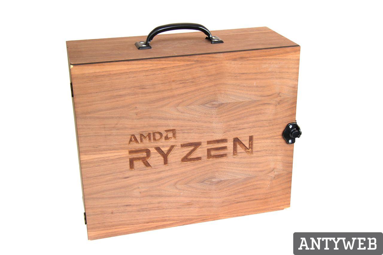 AMD Ryzen 7 1800X walizka