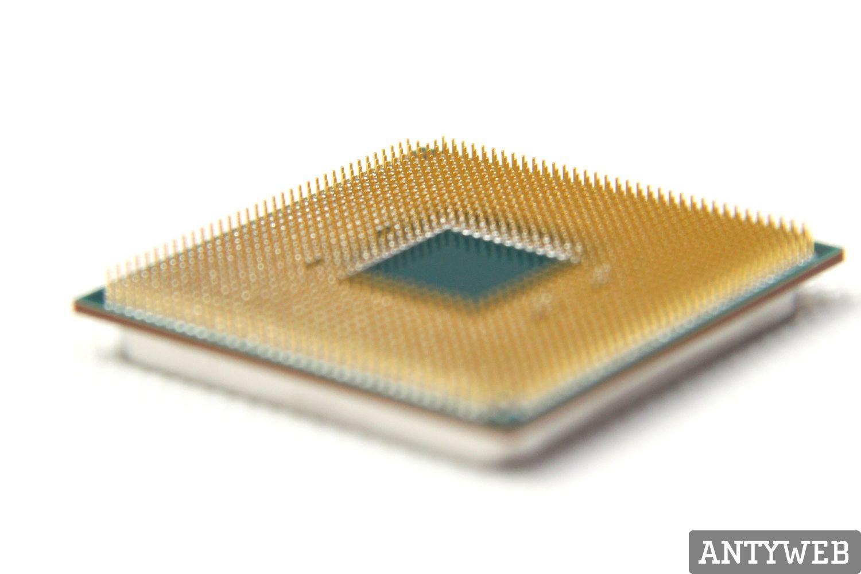 AMD Ryzen 5 2400G i Ryzen 3 2200G - zdjecie rewersu procesora