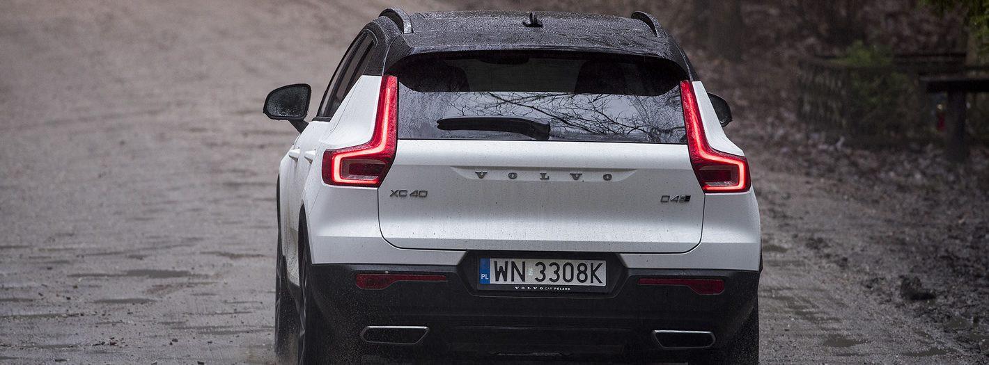 Volvo XC40 - duży prześwit