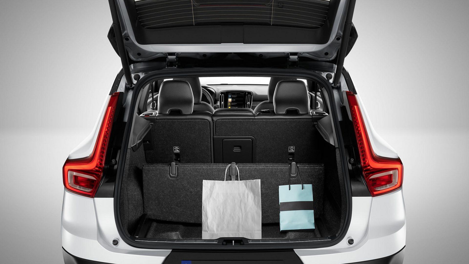 Volvo XC40 - bagażnik