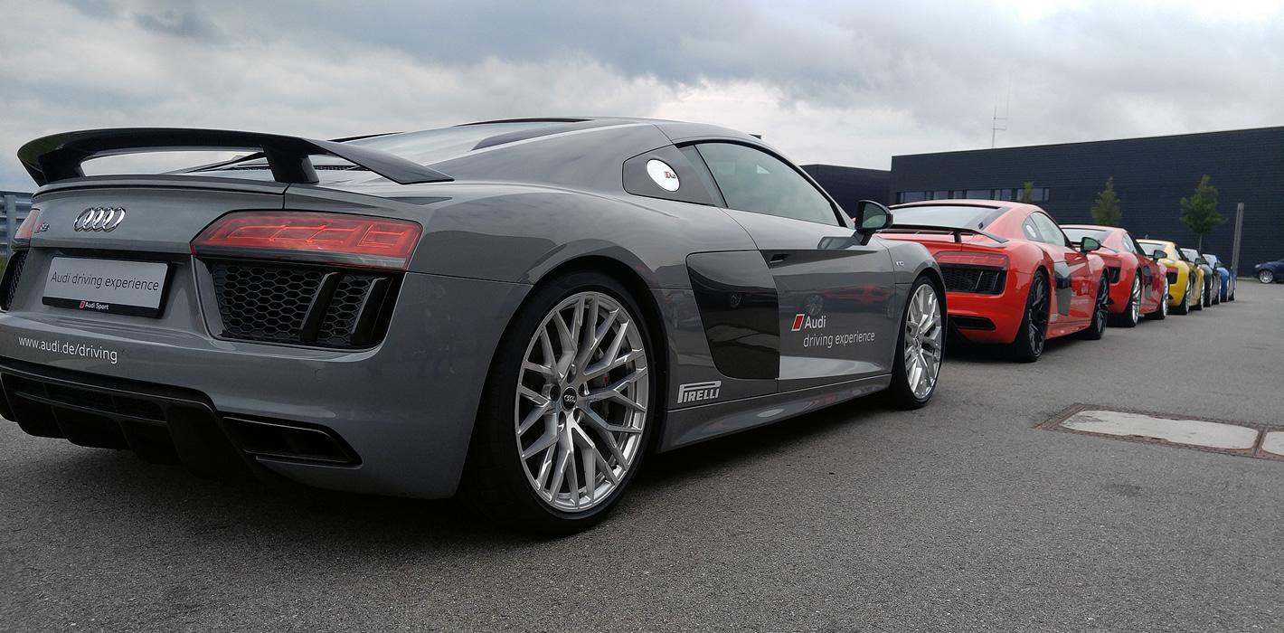 Audi R8 Plus - Audi driving experience