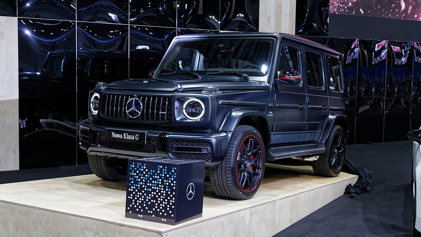 Mercedes-Benz Klasy G na Poznań Motor Show 2018