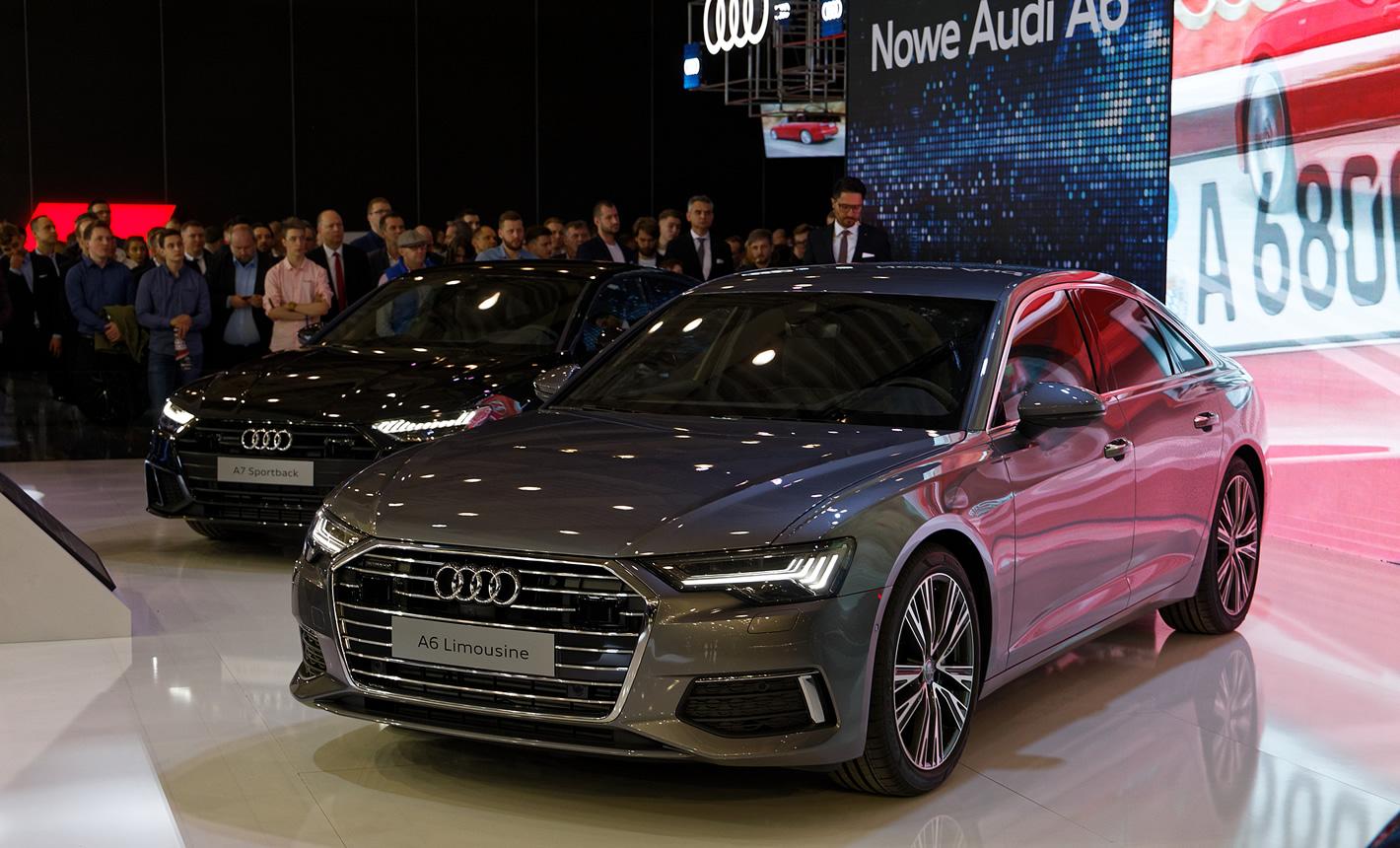Audi A6 na Poznań Motor Shot 2018
