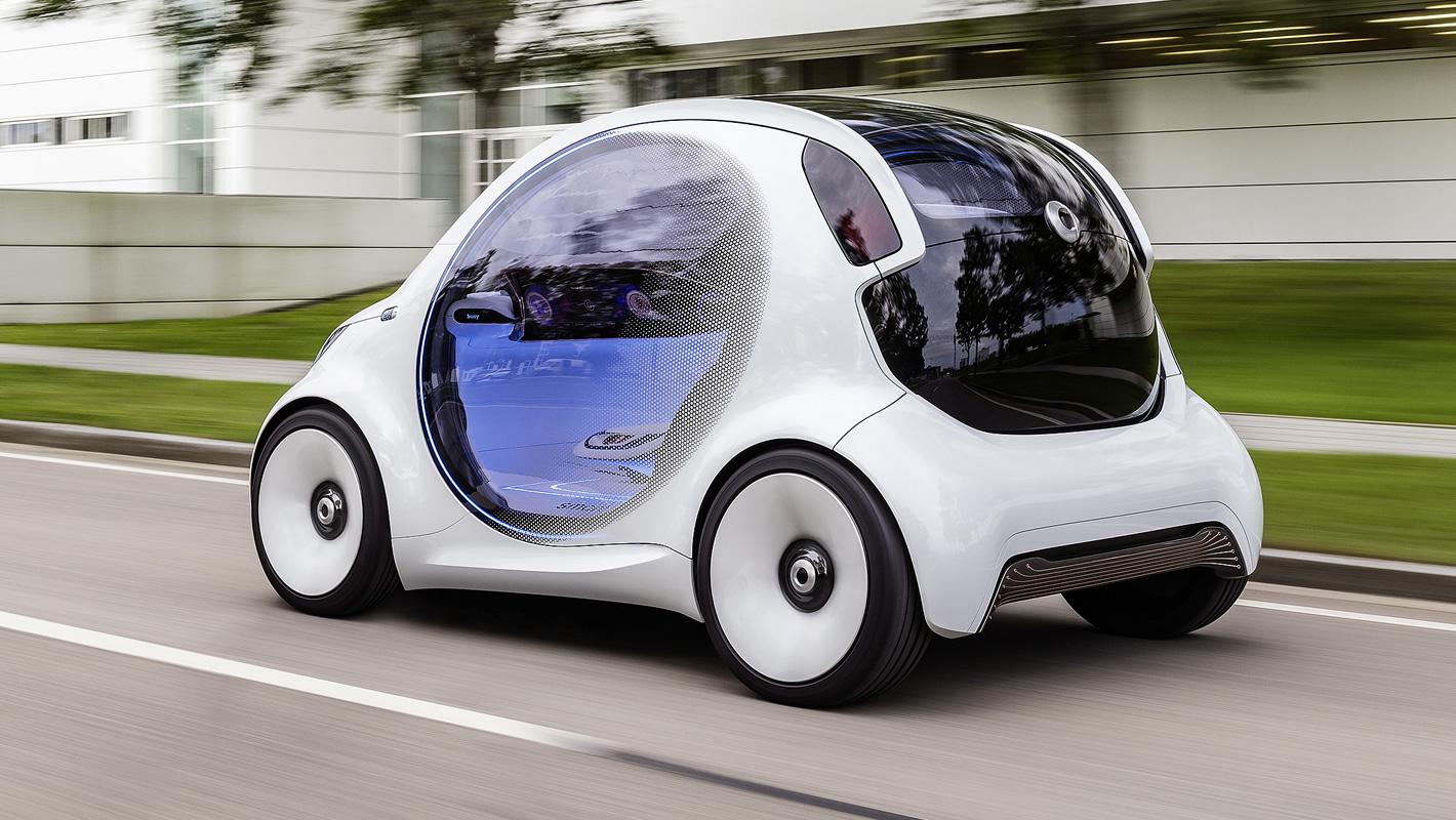 Autonomiczny smart fortwo