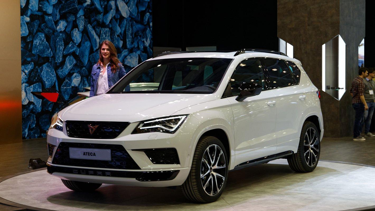 Cupra Ateca na Poznań Motor Show 2018