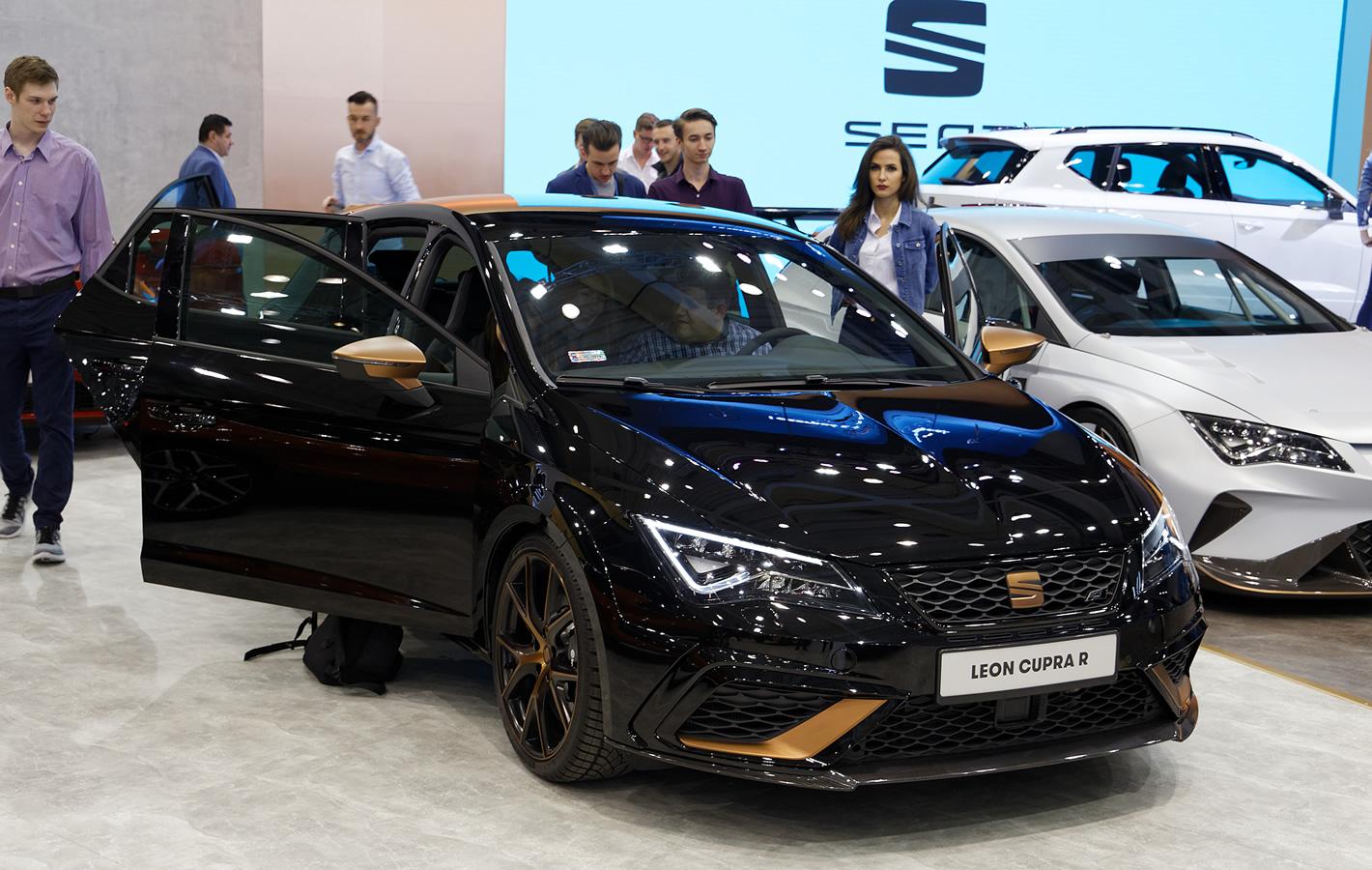 Seat Leon Cupra R na Poznań Motor Show 2018