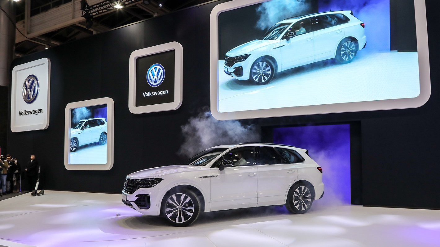 Volkswagen Touareg na Poznań Motor Show 2018
