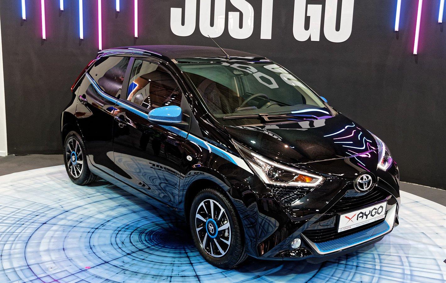 Toyota Aygo na Poznań Motor Show 2018