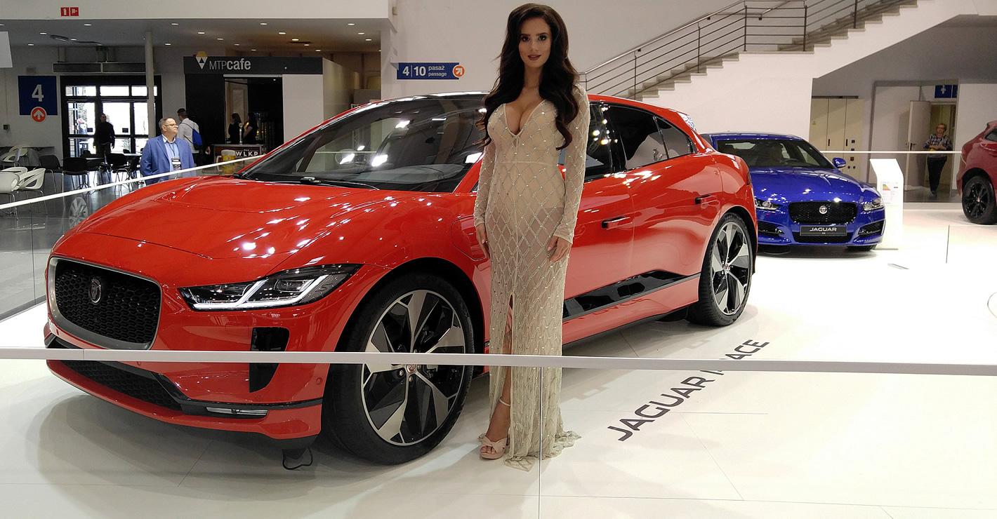 Jaguar I-Pace na Poznań Motor Show 2018