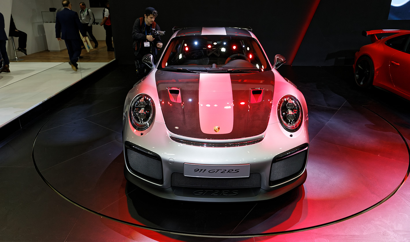 Porsche 911 GT2 RS na Poznań Motor Show 2018