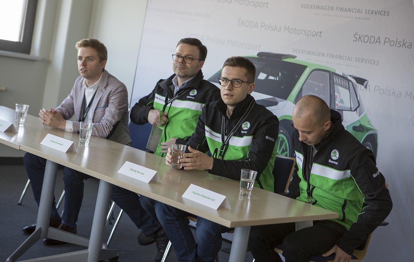 Zespół rajdowy Skoda Polska