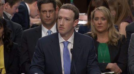 Zuckerberg przesłuchanie