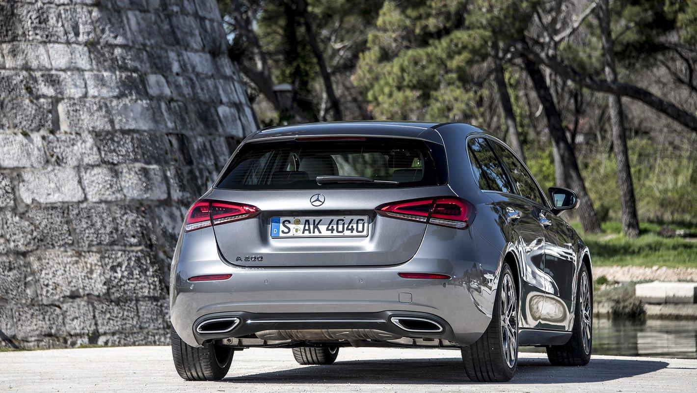 Mercedes-Benz Klasy A z tyłu