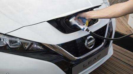 Ładowanie za pomocą CHAdedMO w Nissan Leaf