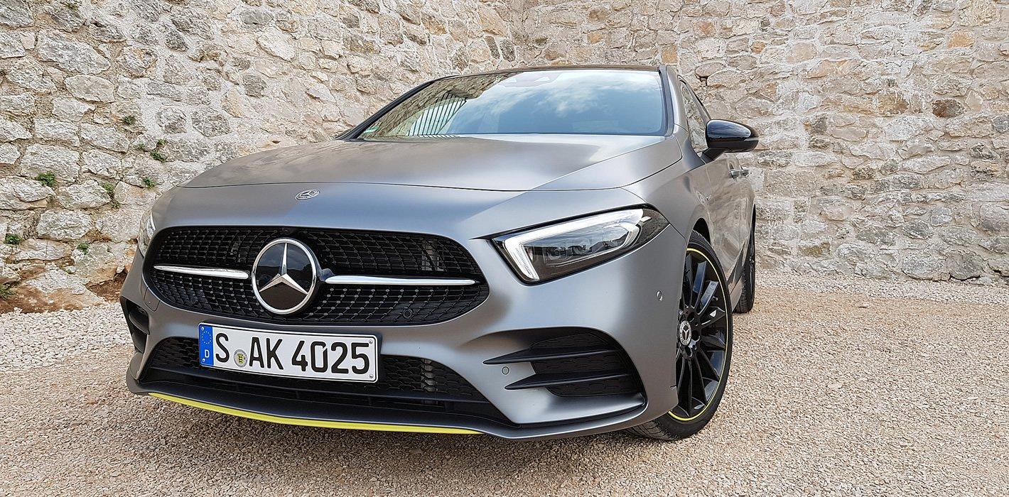 Mercedes-Benz Klasy A matowy