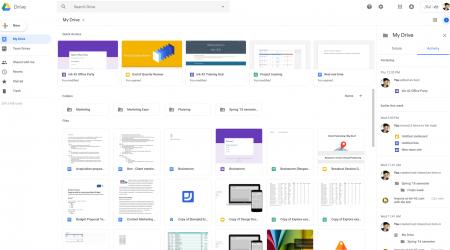 nowy interfejs usług od Google
