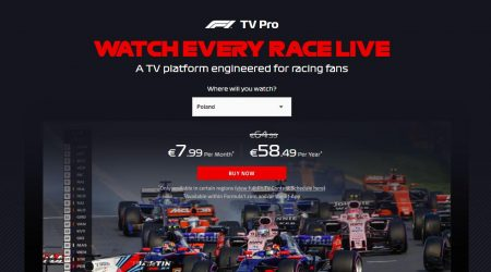 F1 TV Pro oraz F1 TV Access
