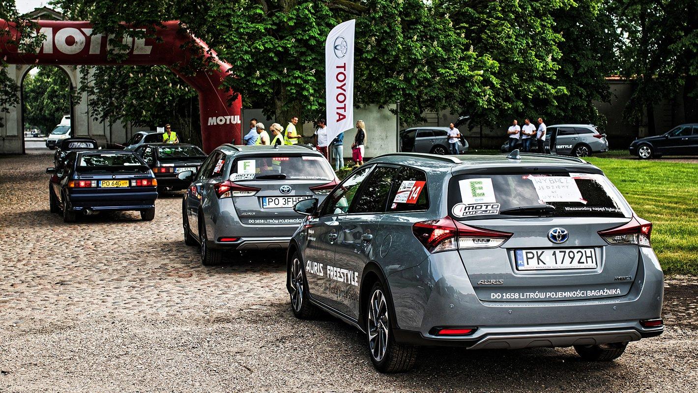 Toyota Eco Rally na etapie II Wielkopolskiego Rajdu Historycznego