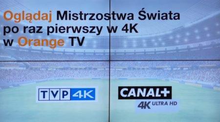 4k orange tv