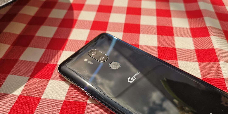 LG G7 aparat