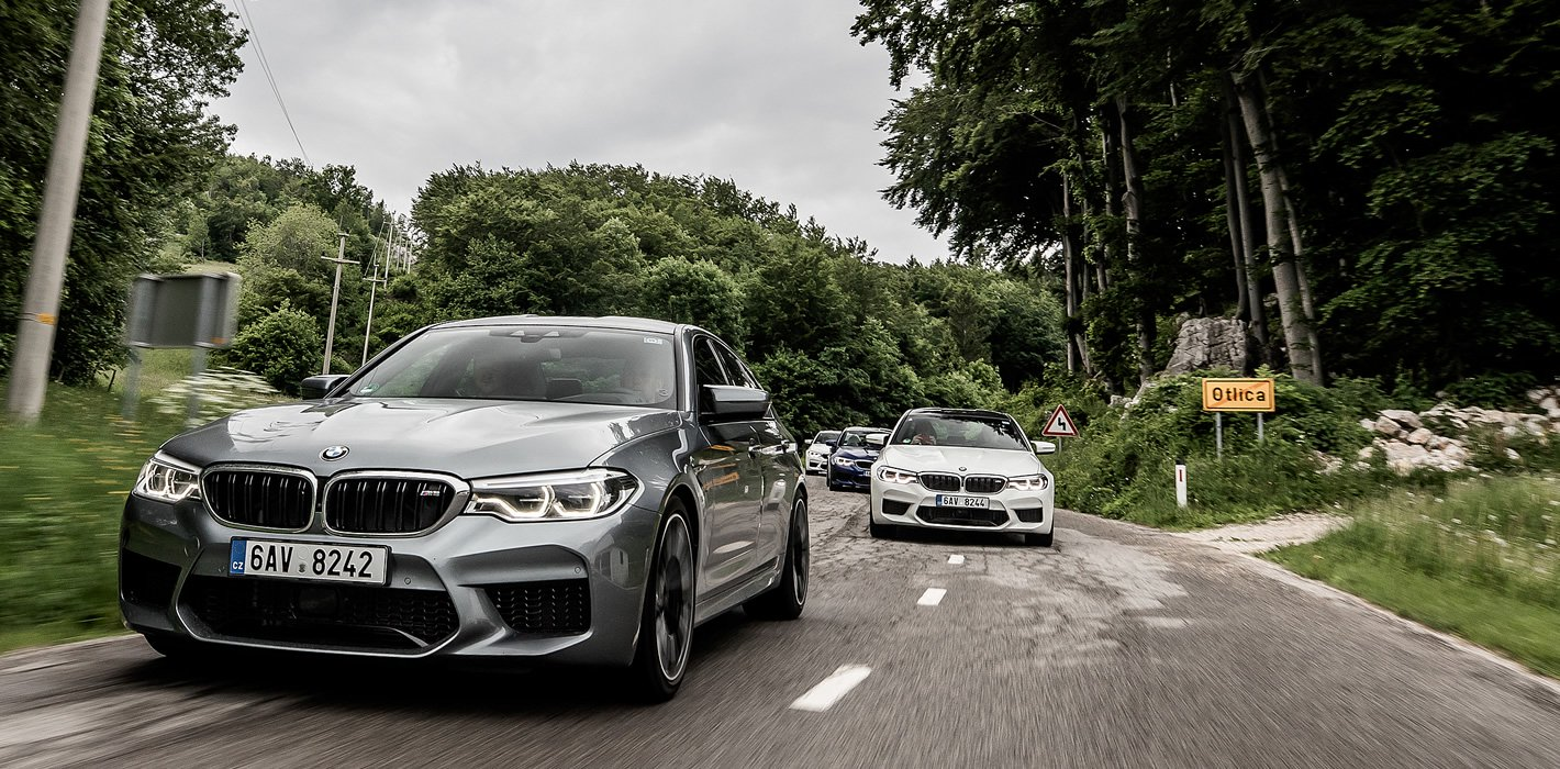 BMW M5 ma skuteczne hamulce