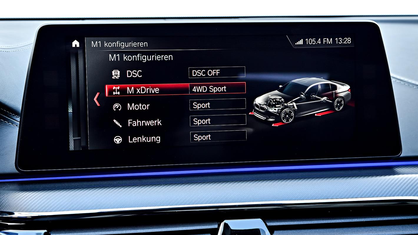 BMW M5 - konfiguracja samochodu