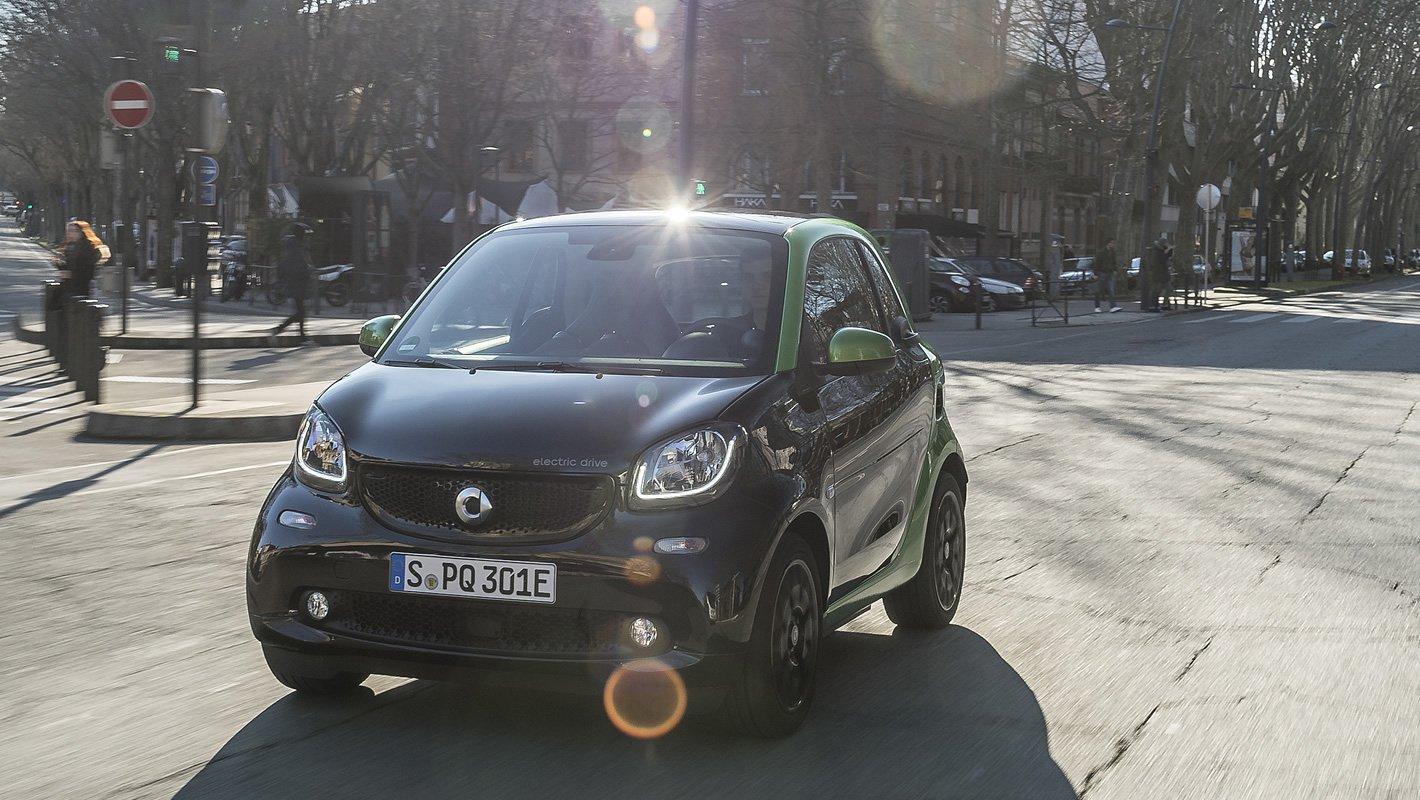 smart EQ fortwo - auto elektryczne