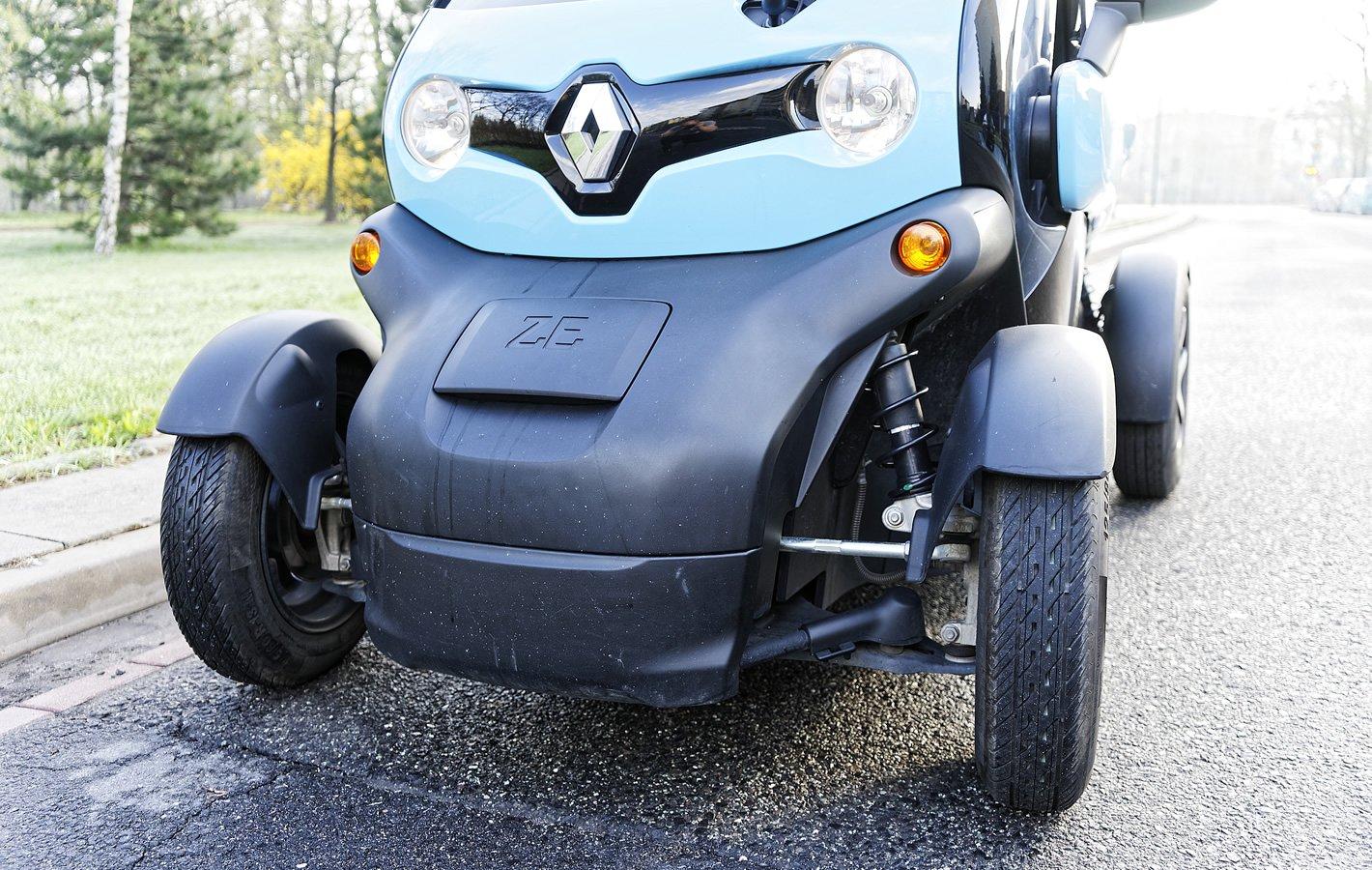 Renault Twizy - zawieszenie
