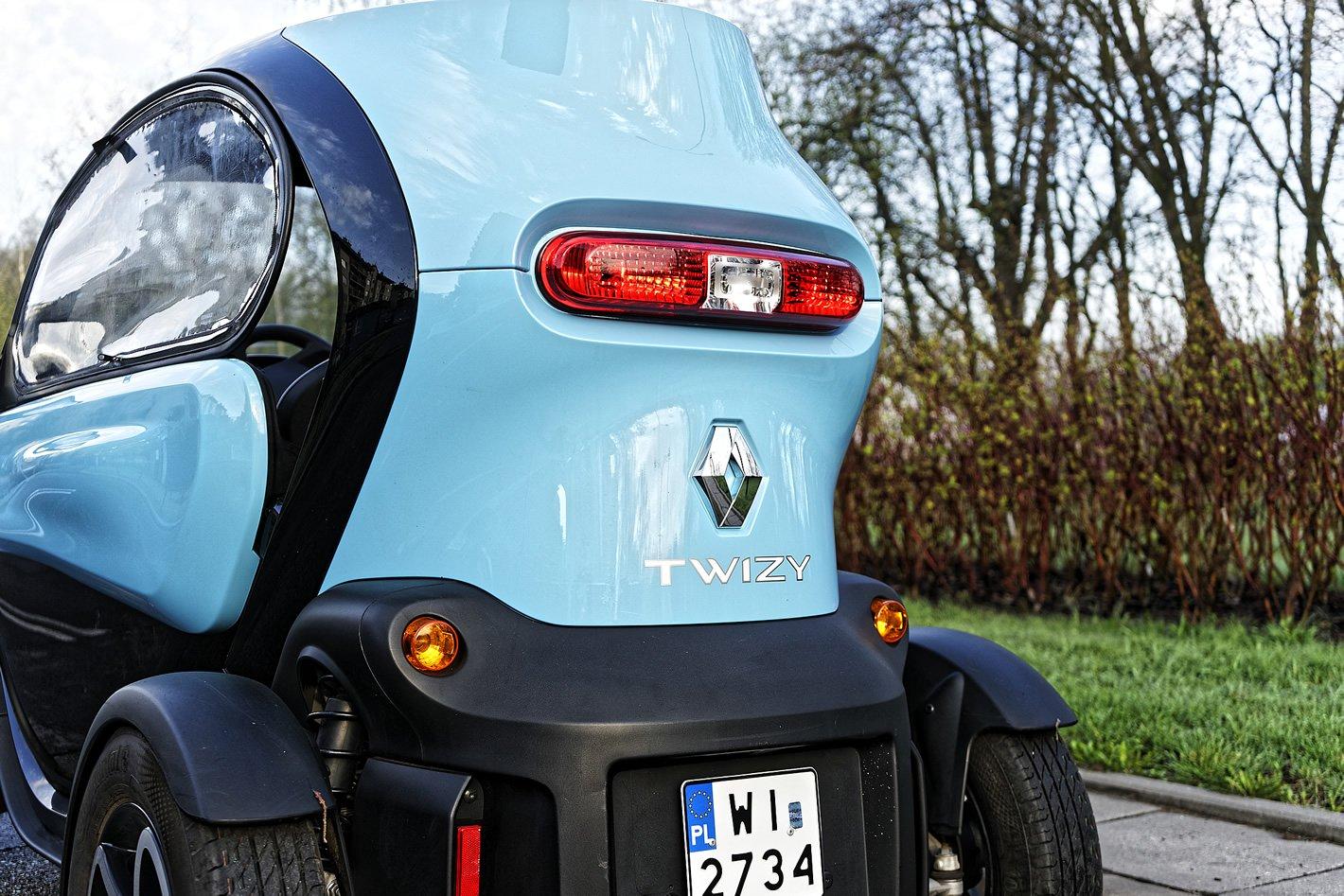 Renault Twizy - drzwi i okna