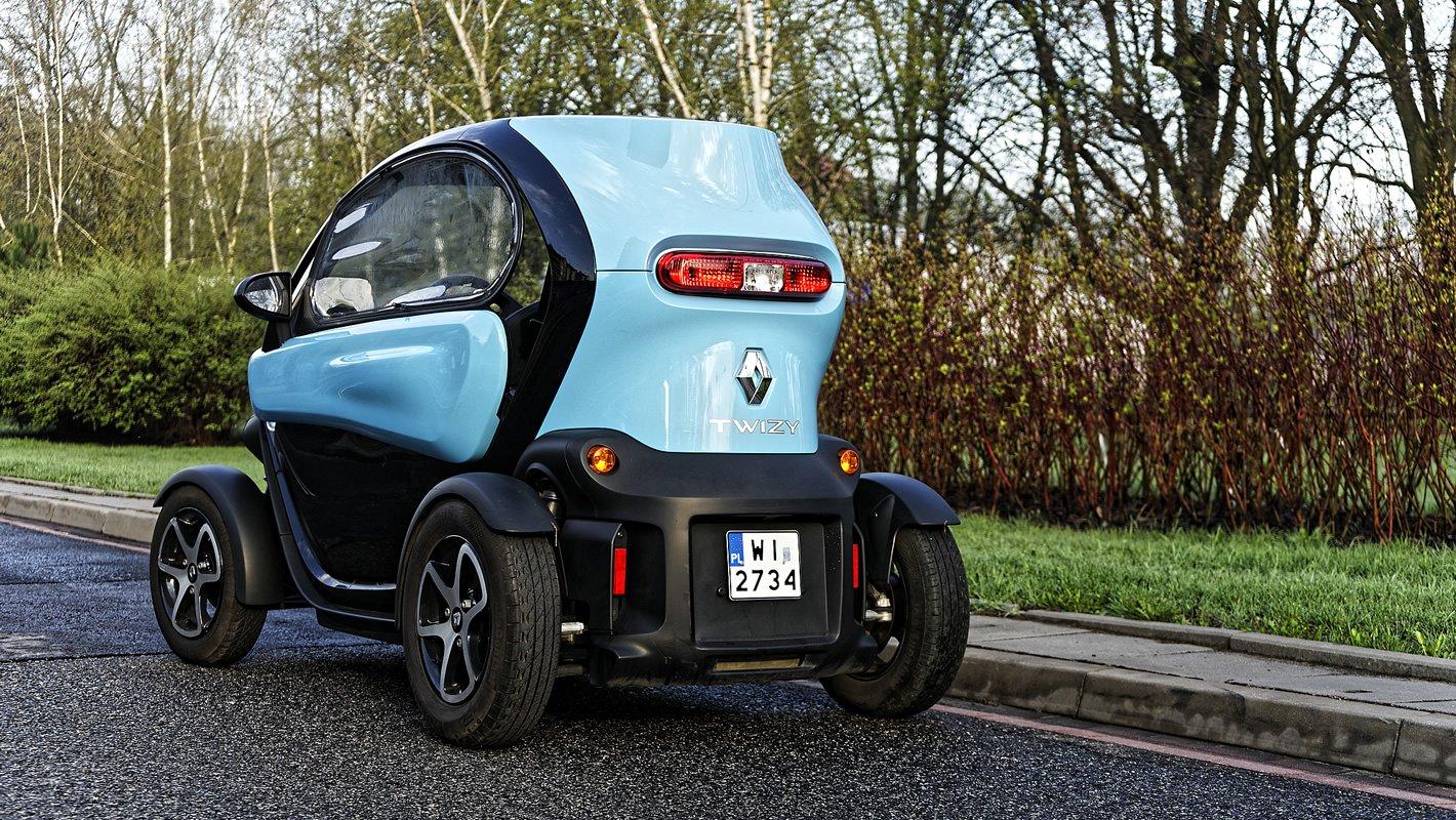 Renault Twizy z tyłu