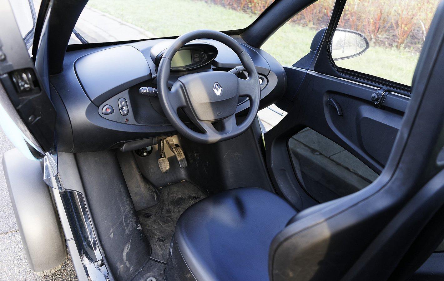 Renault Twizy - wnętrze