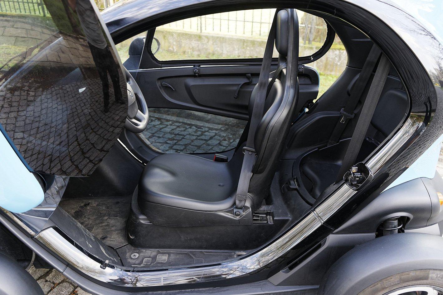 Renault Twizy - fotele