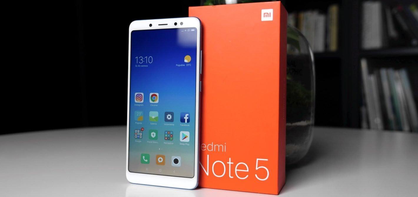 smartfon z dużą baterią Xiaomi Redmi Note 5 Pro