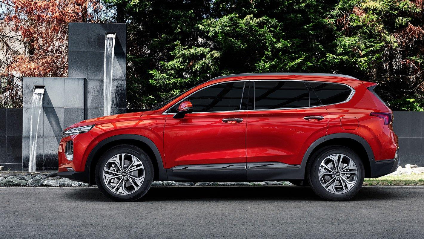 Hyundai Santa Fe 2019 - ochrona dzieci