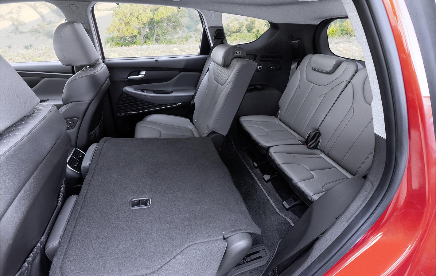 Hyundai Santa Fe 2019 - tylne fotele