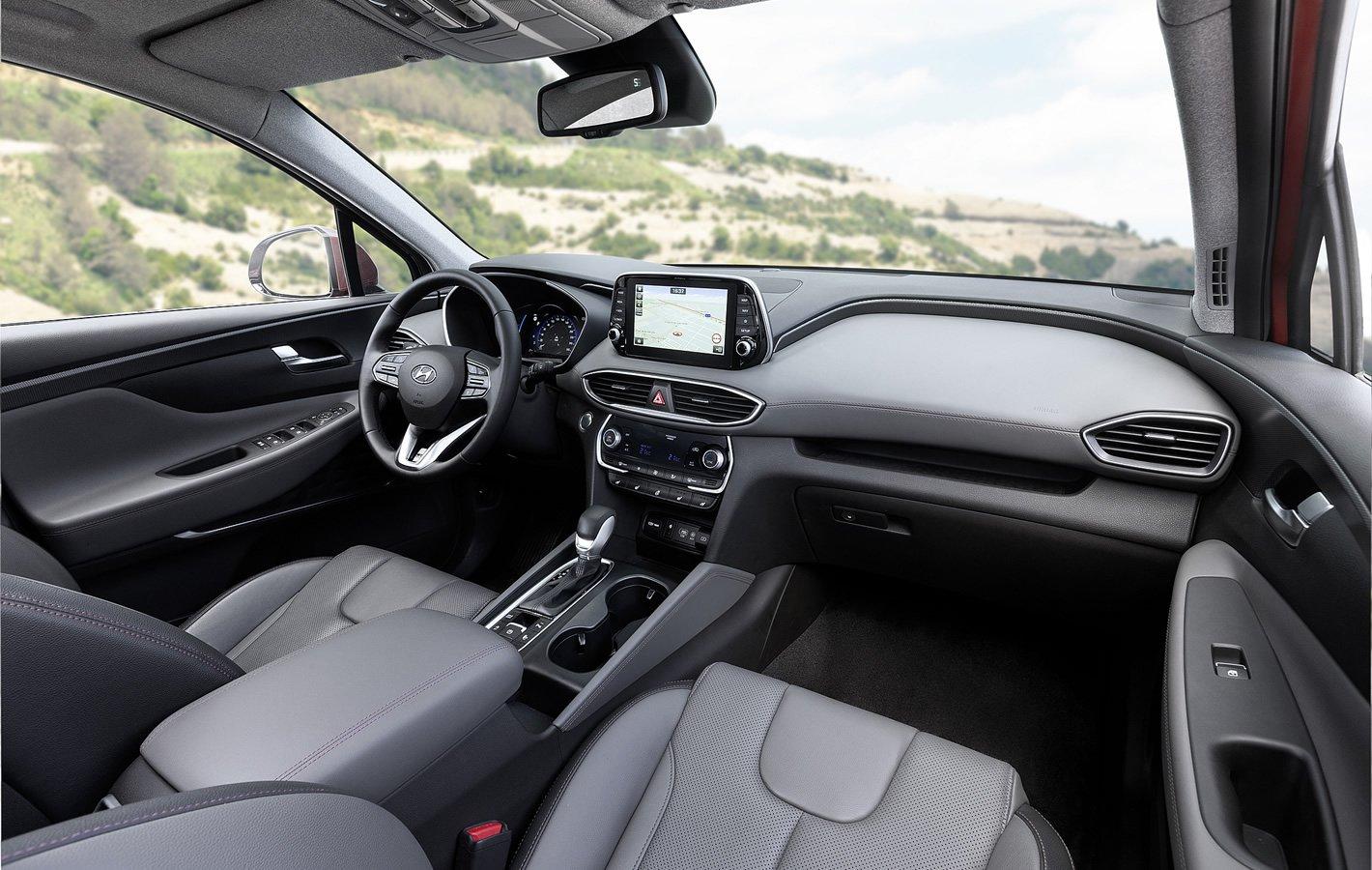 Hyundai Santa Fe 2019 wnętrze