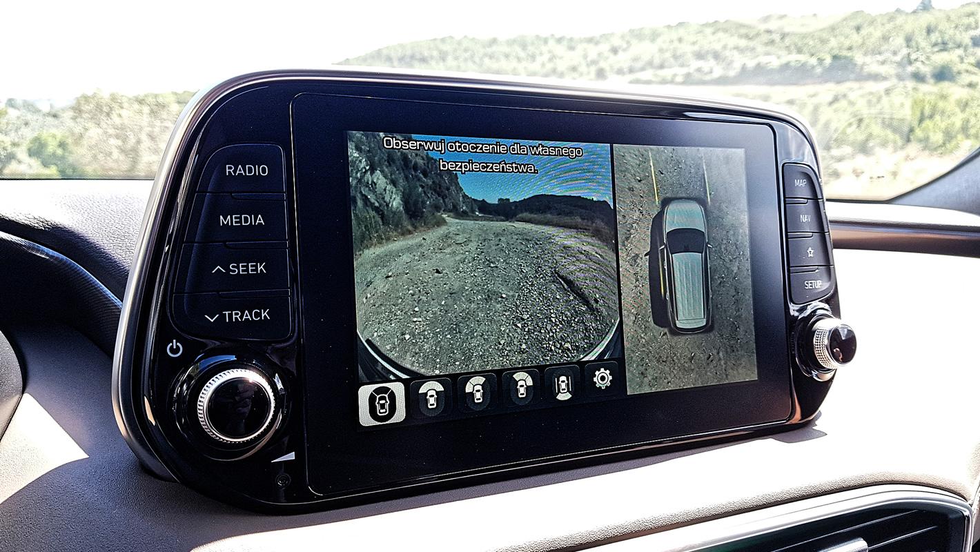 Hyundai Santa Fe 2019 kamera 360 stopni