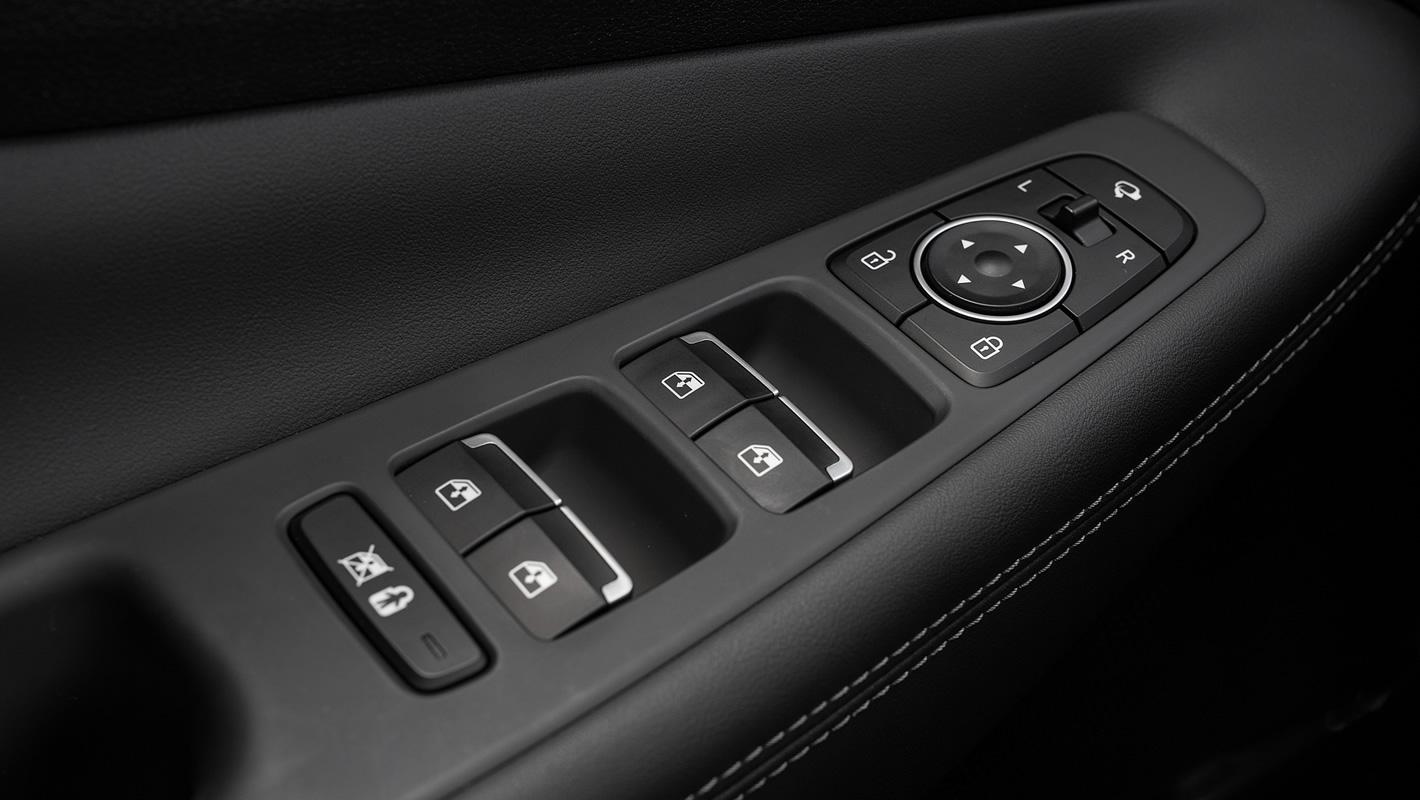 Hyundai Santa Fe 2019 ochrona podczas wychodzenia z samochodu