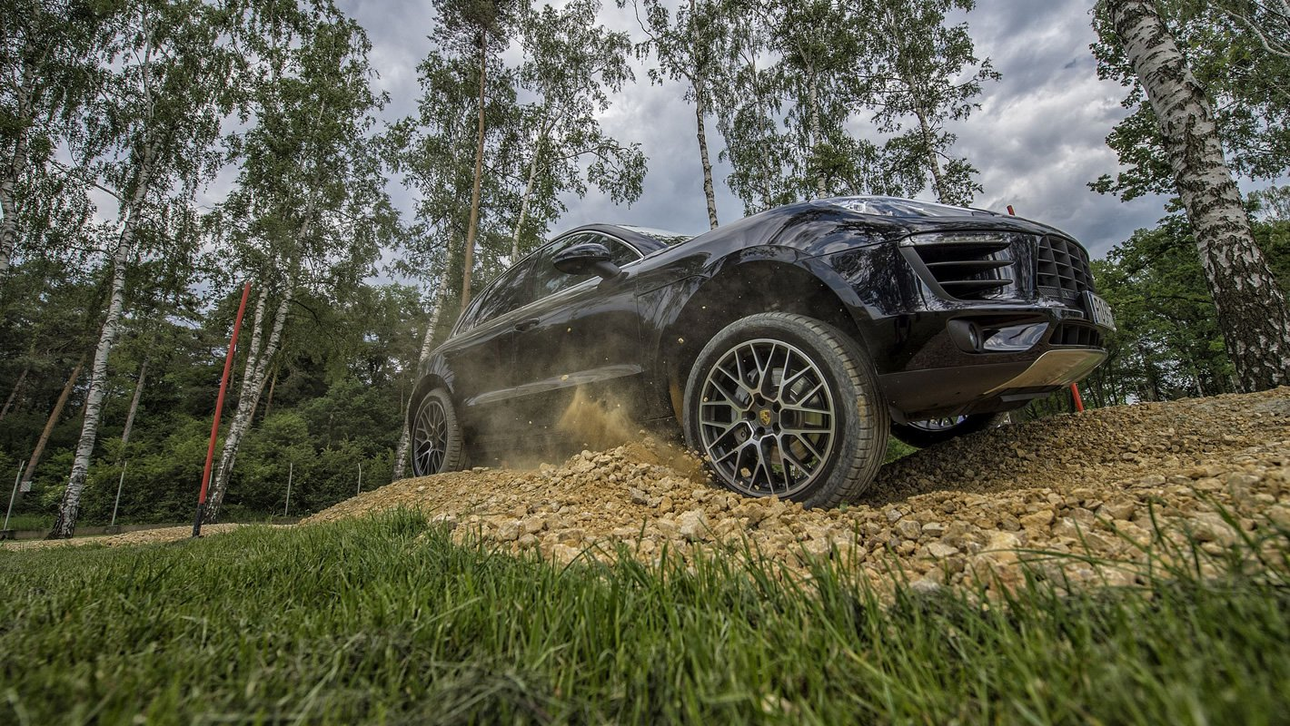 Porsche Driving Experience - offroad