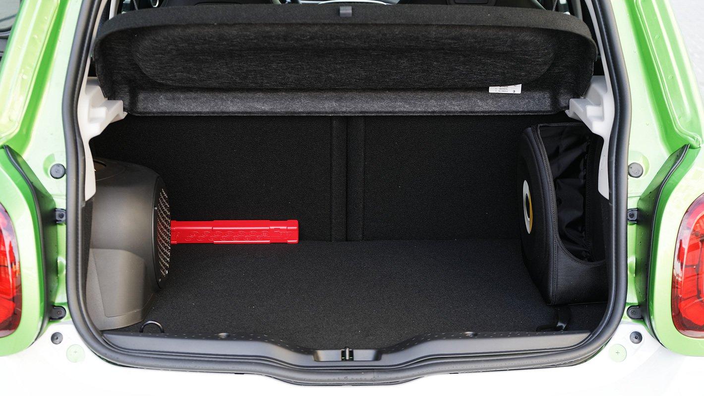 smart forfour EQ - bagażnik