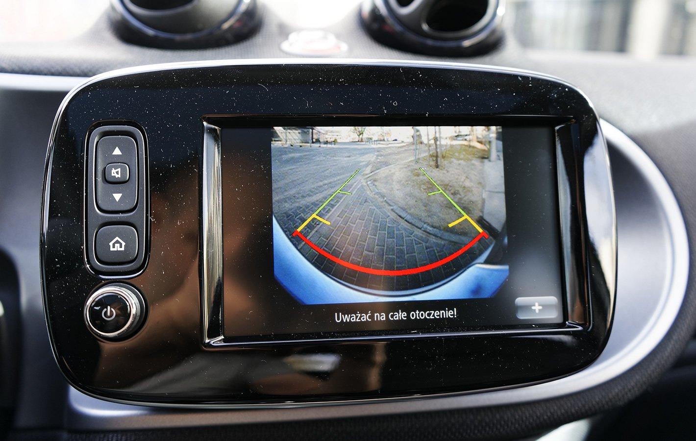 smart forfour EQ - kamera cofania